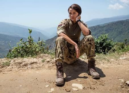 Michelle Keegan Starts Filming In Nepal As 'Our Girl' Gets Series Boost From