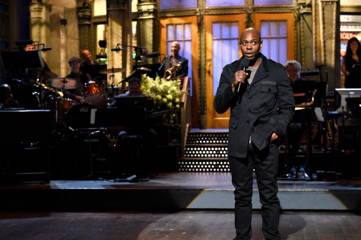 "Chappelle on ""Saturday Night Live."""
