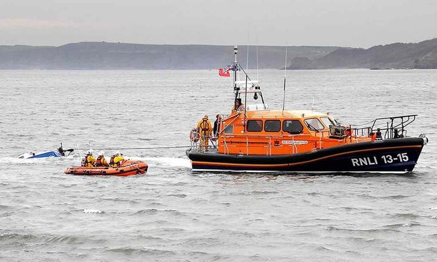 Yacht Don T Panic Is Found Run Aground With No Sign Of Crew Off