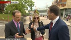 BBC's Ben Brown Slapped After Accidentally Pushing Woman Away By The