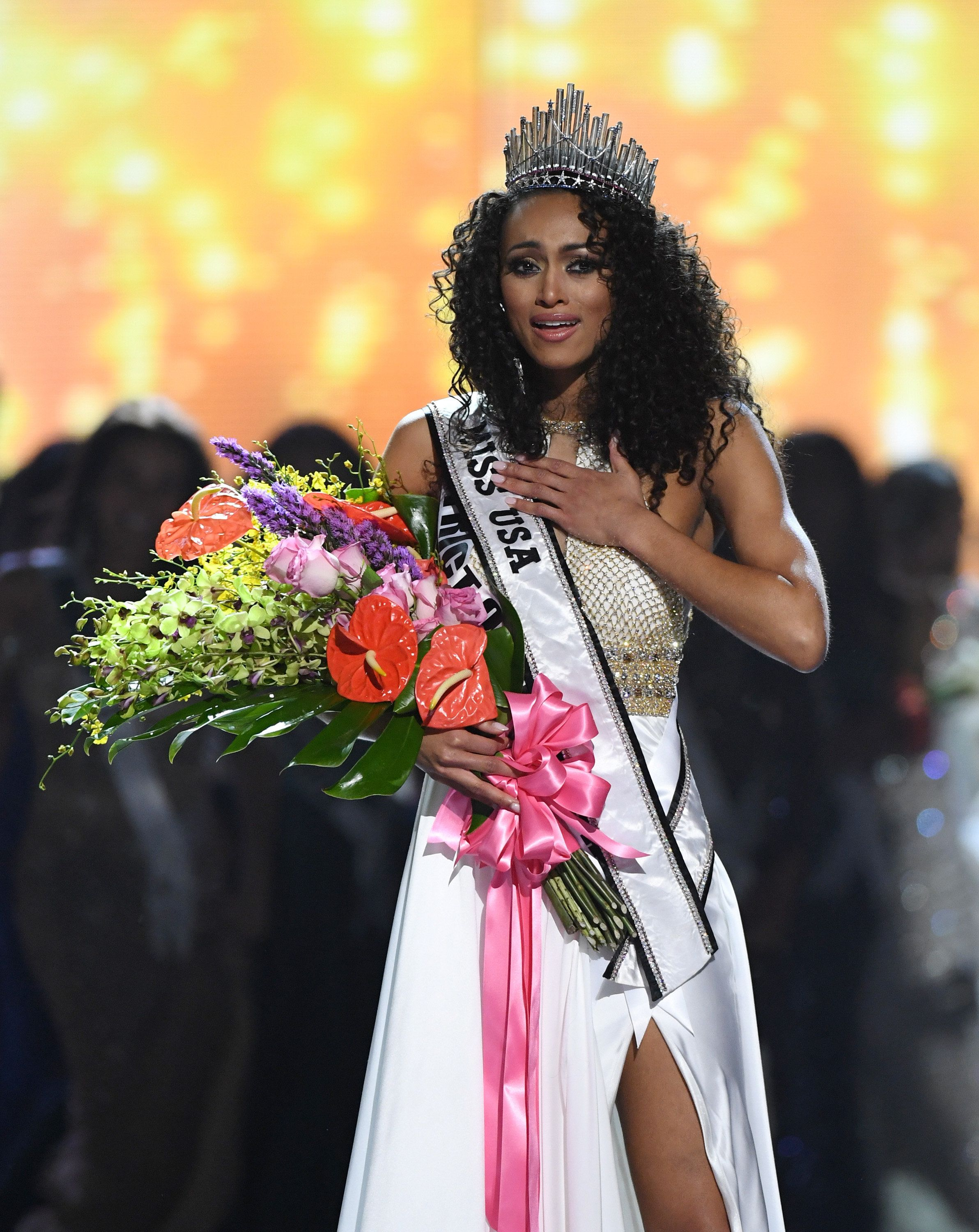Miss USA On Embracing Her Natural Hair And Breaking The Beauty Pageant