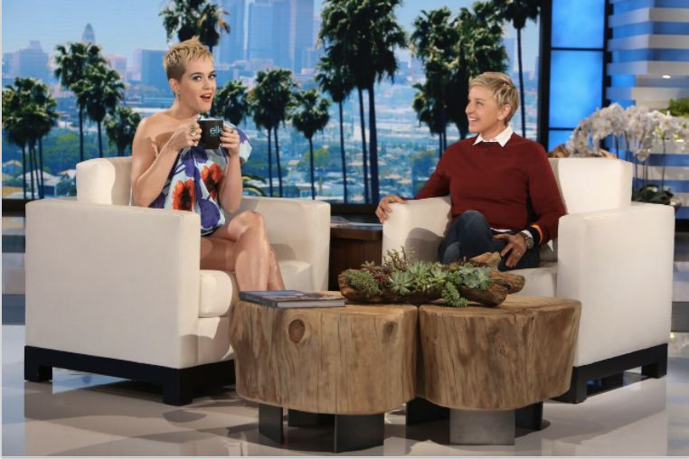 Watch Katy Perry Painfully Remind Ellen That, Yes, She Married Russell