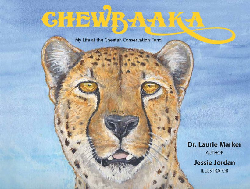 Front cover of <em>Chewbaaka - My Life at the Cheetah Conservation Fund</em>