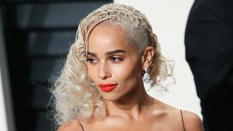 BEVERLY HILLS, CA - FEBRUARY 26: Actress Zoe Kravitz attends the 2017 Vanity Fair Oscar Party hosted by Graydon Carter at the Wallis Annenberg Center for the Performing Arts on February 26, 2017 in Beverly Hills, California.  (Photo by David Livingston/Getty Images)
