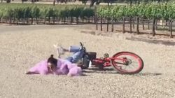 This Video Of Kendall Jenner Falling On Her Face Has 4 Million