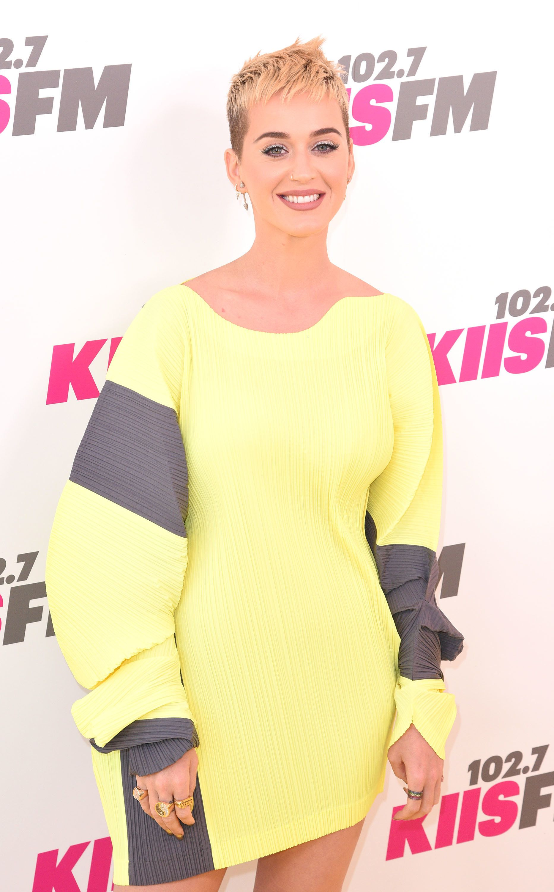 CARSON, CA - MAY 13:  Katy Perry attends KIIS FM's 2017 Wango Tango at StubHub Center on May 13, 2017 in Carson, California.  (Photo by C Flanigan/Getty Images)