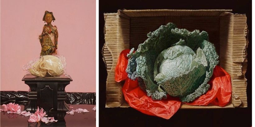 <em>Reflection </em>by Mattehw Bober, and <em>Savoy Cabbage in a Box</em> by Bruno Di Maio
