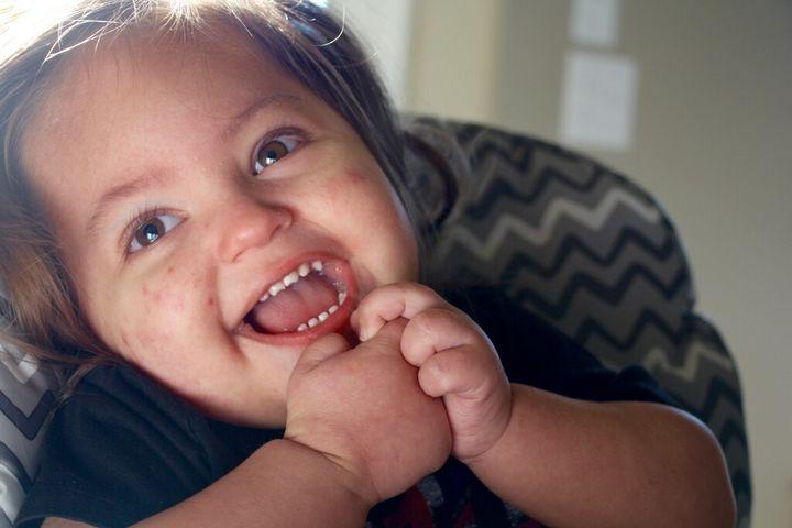 <p>Ellis Claire, age two</p>