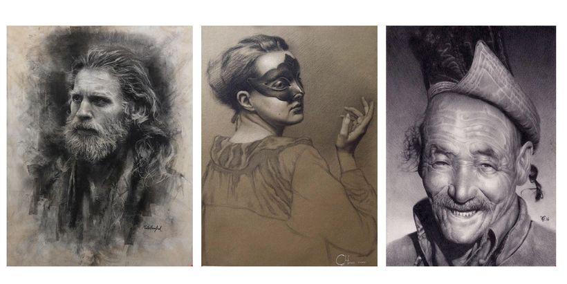 <em>The Thinker</em> by Marta Crawford, <em>The Storyteller</em> by Cornelia Hernes, <em>The Storyteller</em> by Christophe V