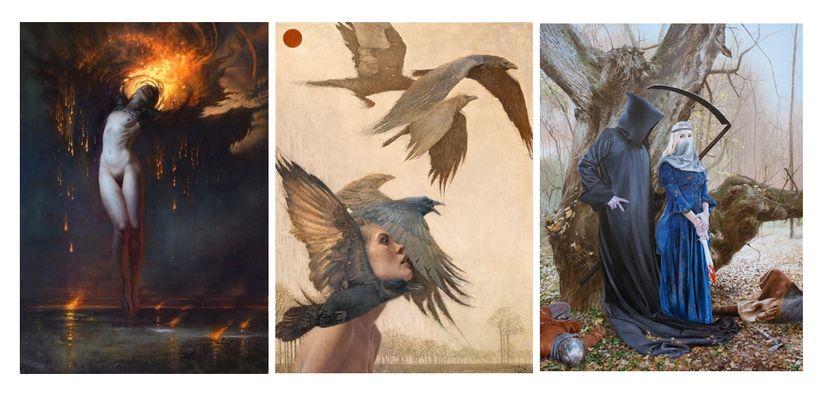 <em>Semillas</em> by Tenaya Sims, <em>Ascent</em> by Daniel Bilmes, <em>Courting Death </em>by Linda Adair