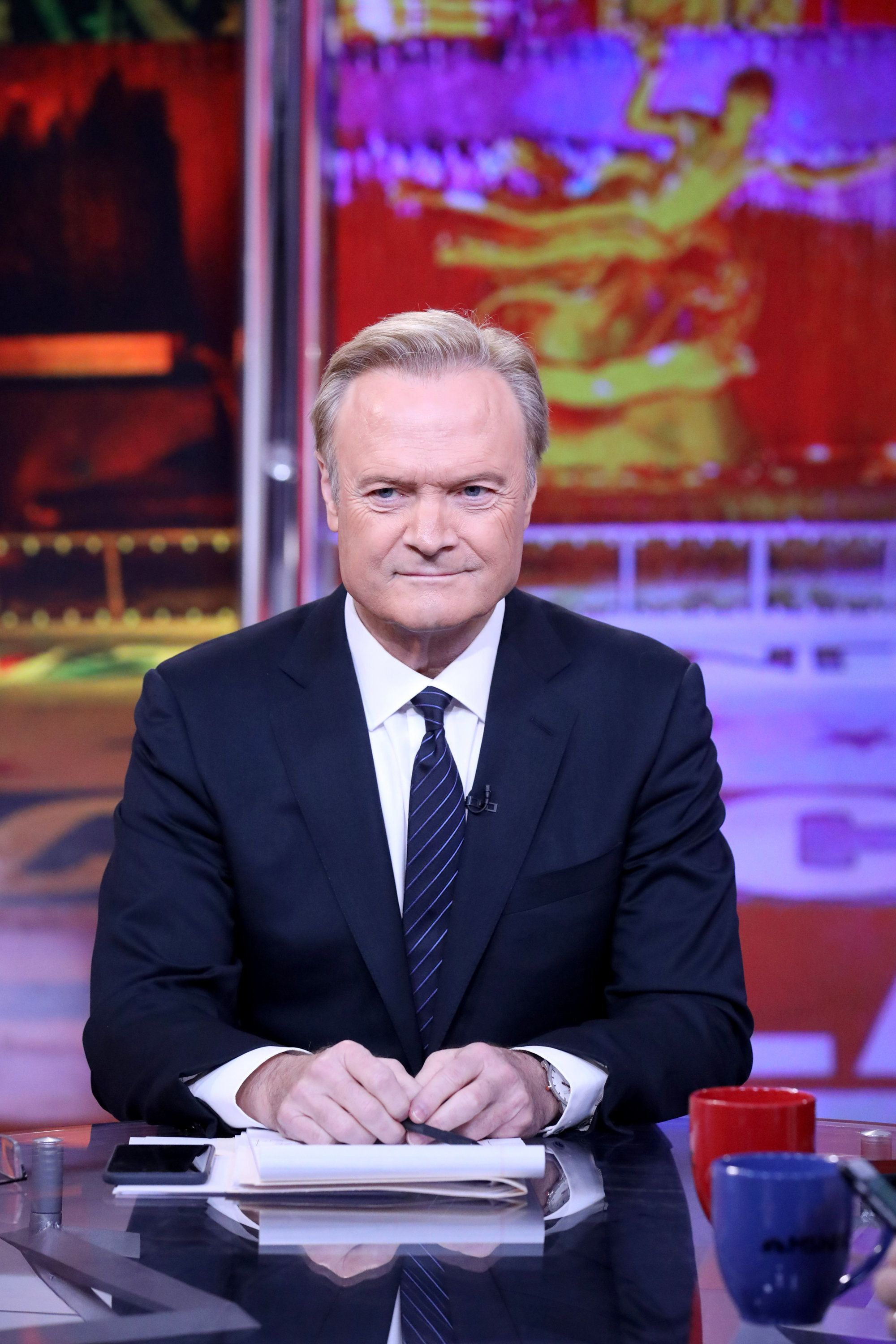 MSNBC - ELECTION COVERAGE -- Election Night 2016 -- Pictured: Lawrence O'Donnell, Host, 'The Last Word with Lawrence O'Donnell' on Tuesday, November 8, 2016 from New York -- (Photo by: Heidi Gutman/MSNBC/NBCU Photo Bank via Getty Images)