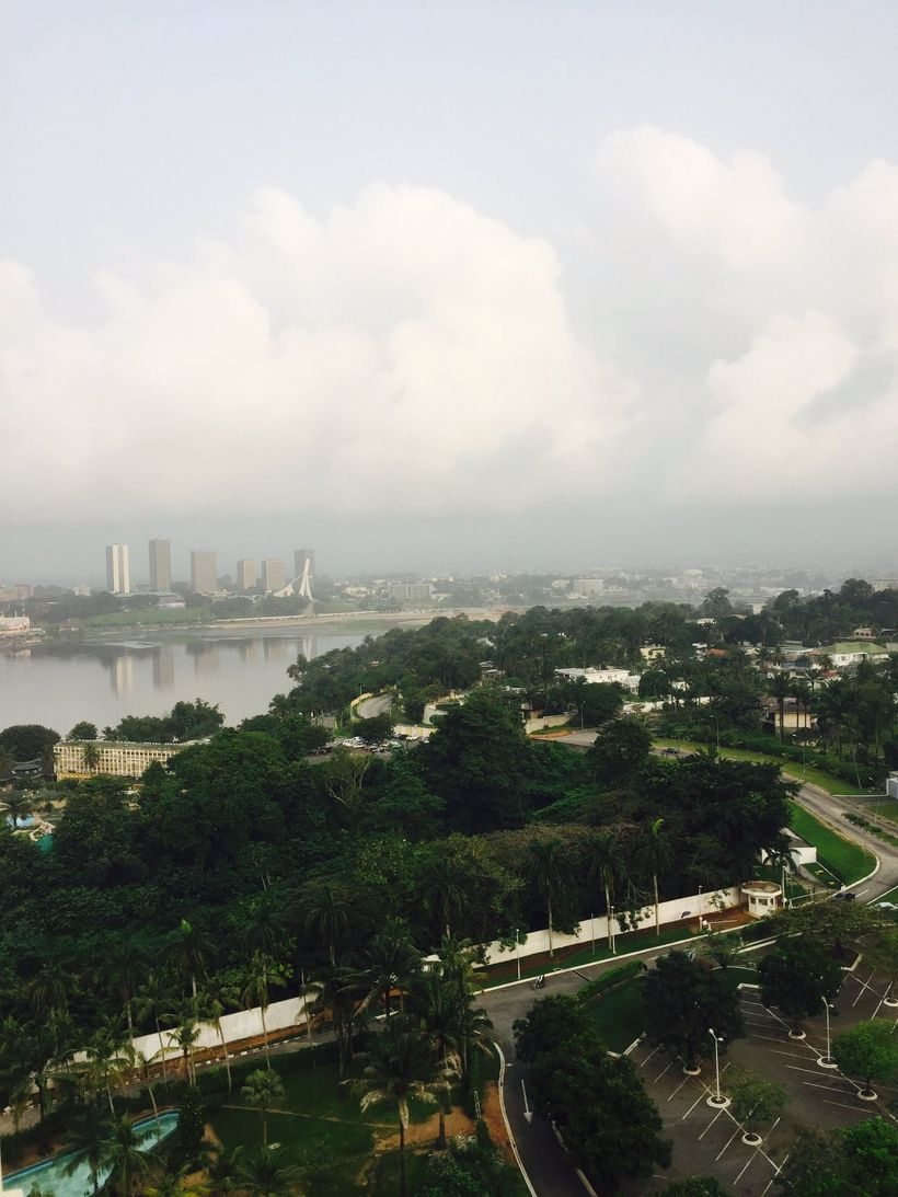 A steamy morning in Abidjan, the capital of Côte d'Ivoire.