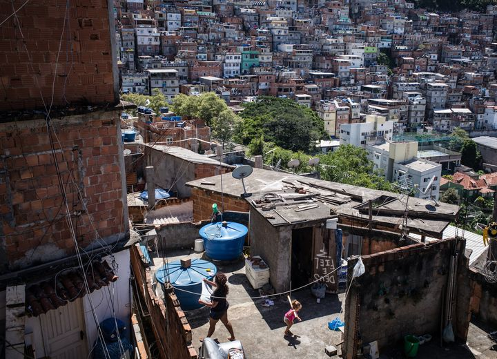 Rio de Janeiro, Brazil. Over 30% of Rio's population suffers from high blood pressure, higher than the national level of 25%.