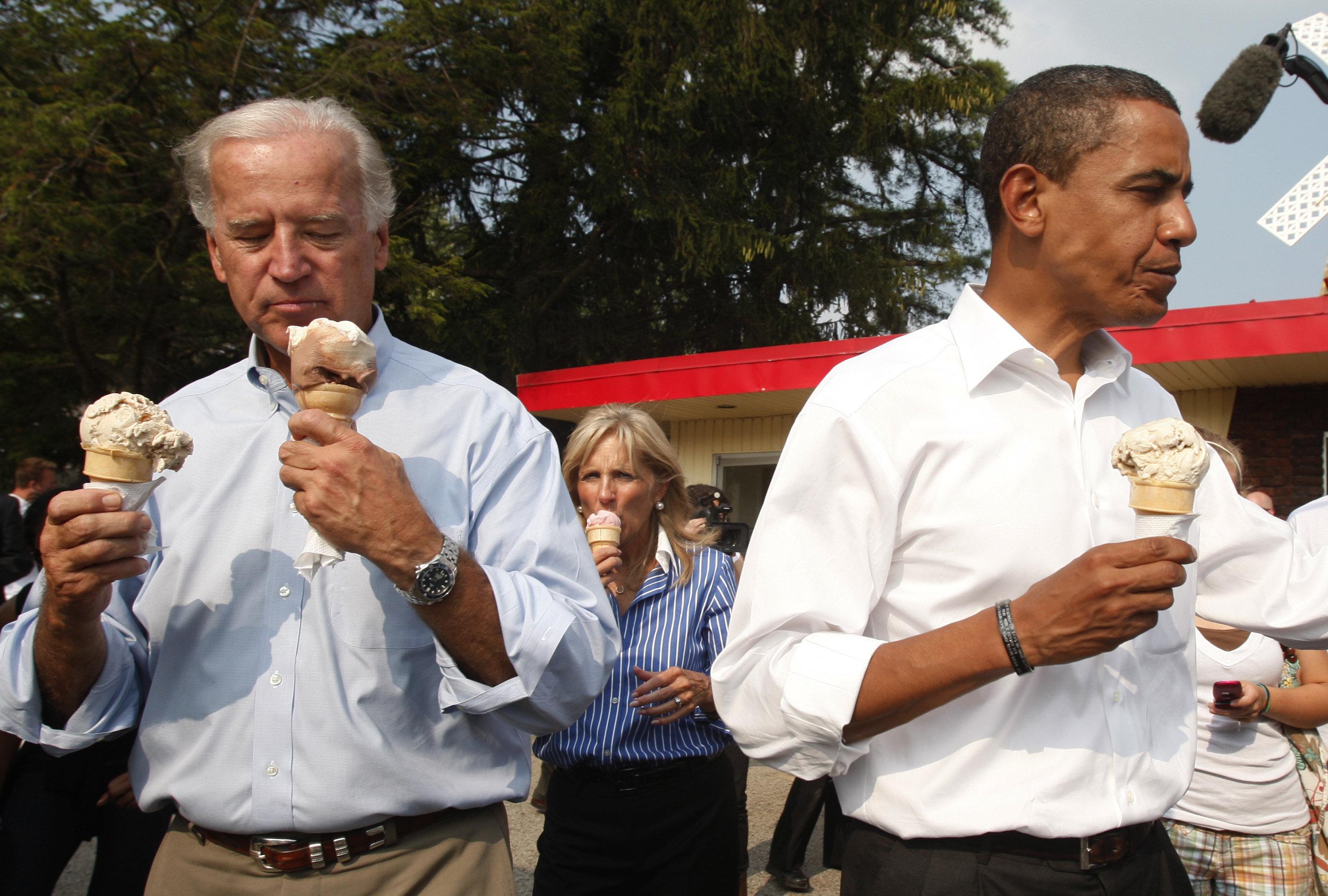 Ice cream lover Joe Biden is finally getting his own flavor Ice cream lover Joe Biden is finally getting his own flavor new pics
