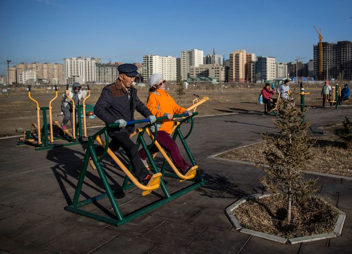 Ulaanbaatar, Mongolia. In Mongolia, cardiovascular deaths account for 43% of total deaths.