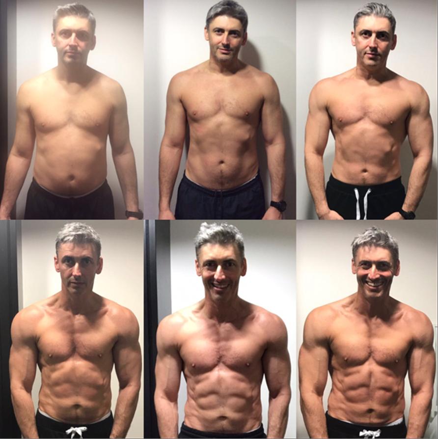Getting fit at 50 men
