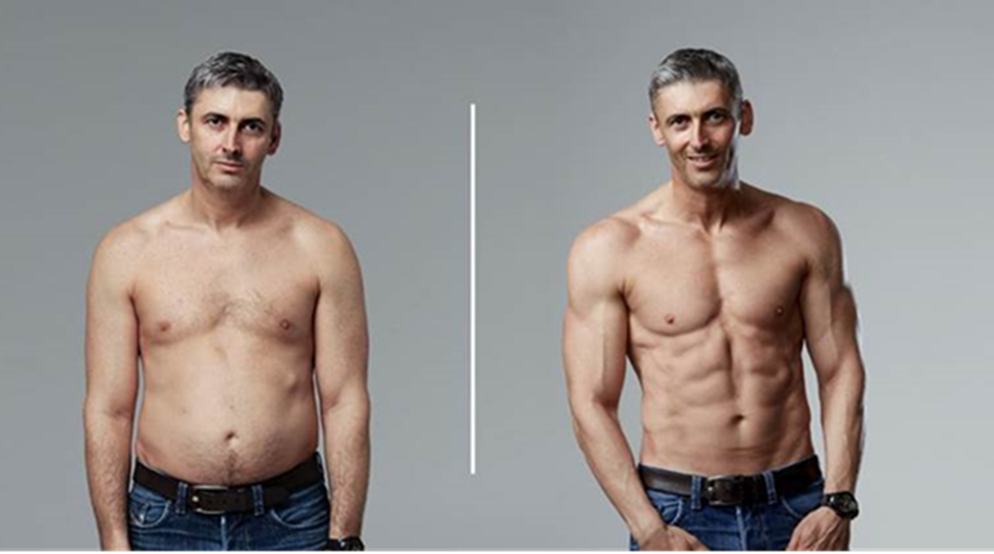 How This 45-Year-Old Transformed His Body In Just 12
