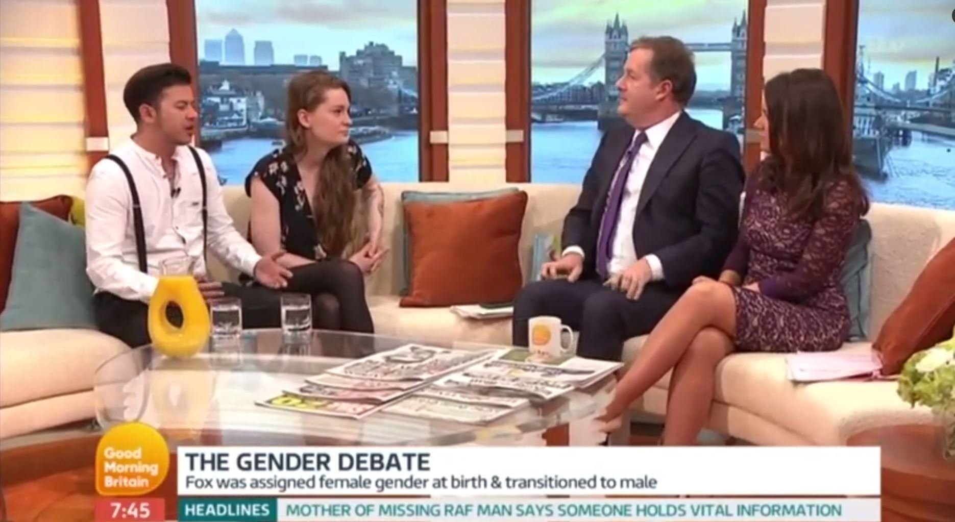 A Non-Binary Couple Tried To Explain Their Gender To Piers Morgan And It Went As Well As You'd Expect