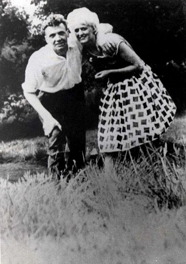 Brady with his lover Myra