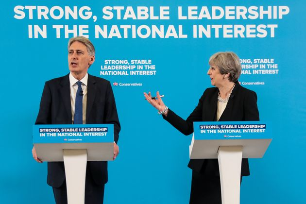 Theresa May Refuses To Confirm Philip Hammond Will Stay As Chancellor After The