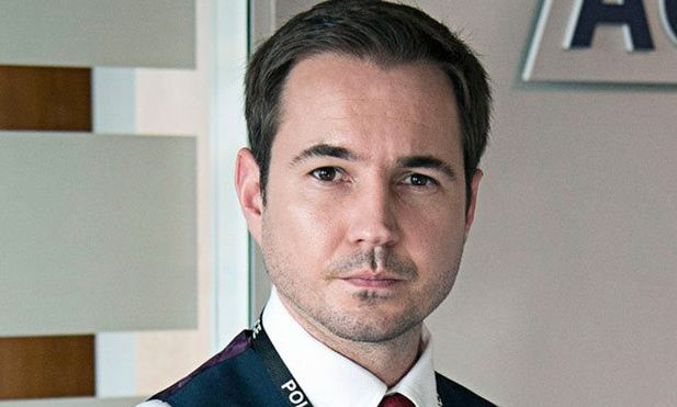 Martin Compston, fresh from 'Line of Duty', will appear in 'Victoria' Series