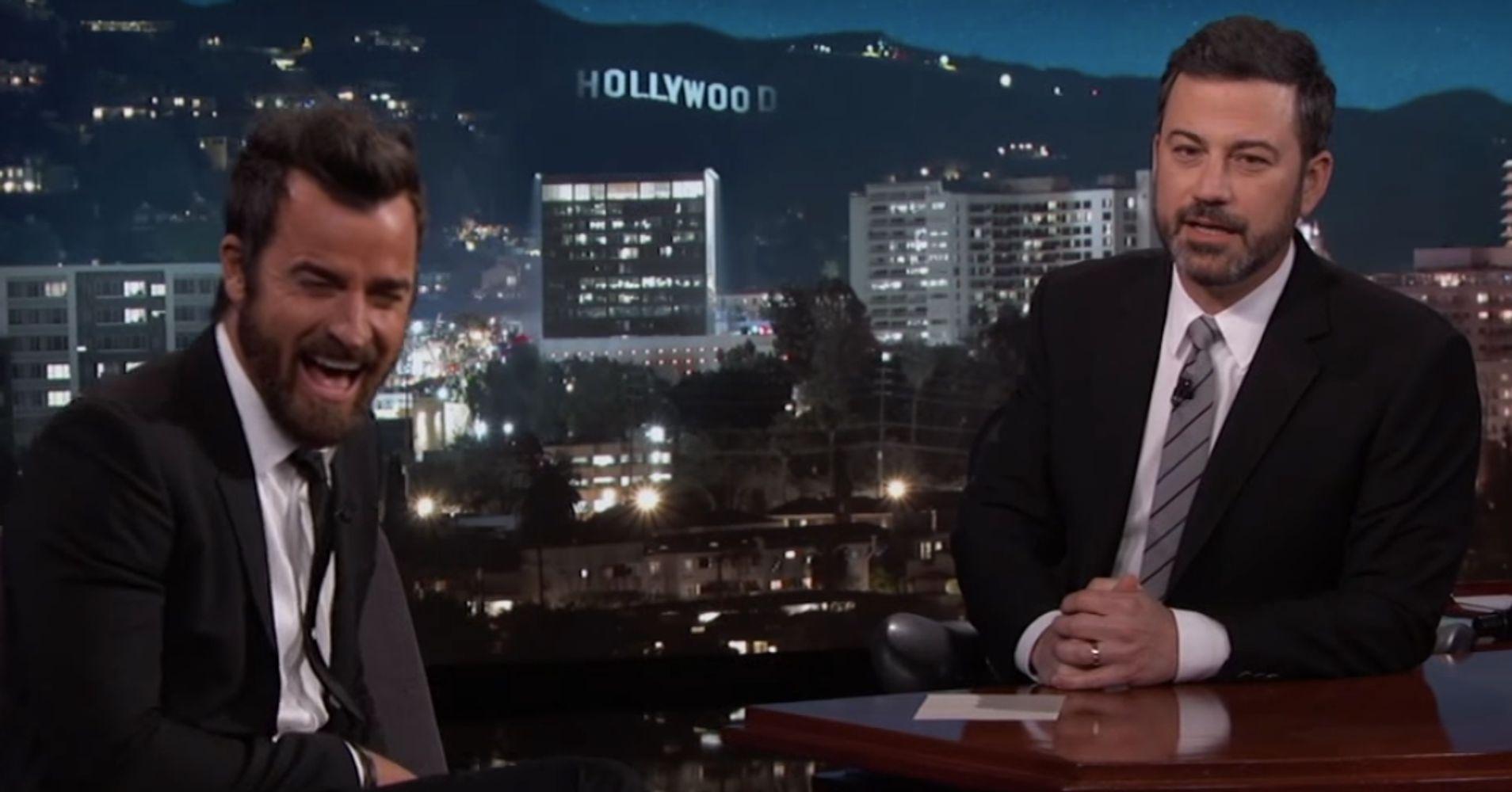 Jimmy Kimmel And Jennifer Aniston Team Up To Prank Justin Theroux ...
