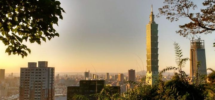 <p>Taipei 101 at sunset</p>