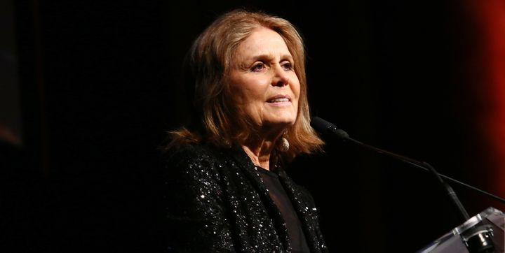 Steinem speaks at the Ms. Foundation for Women 2017 Gloria Awards on May 3.