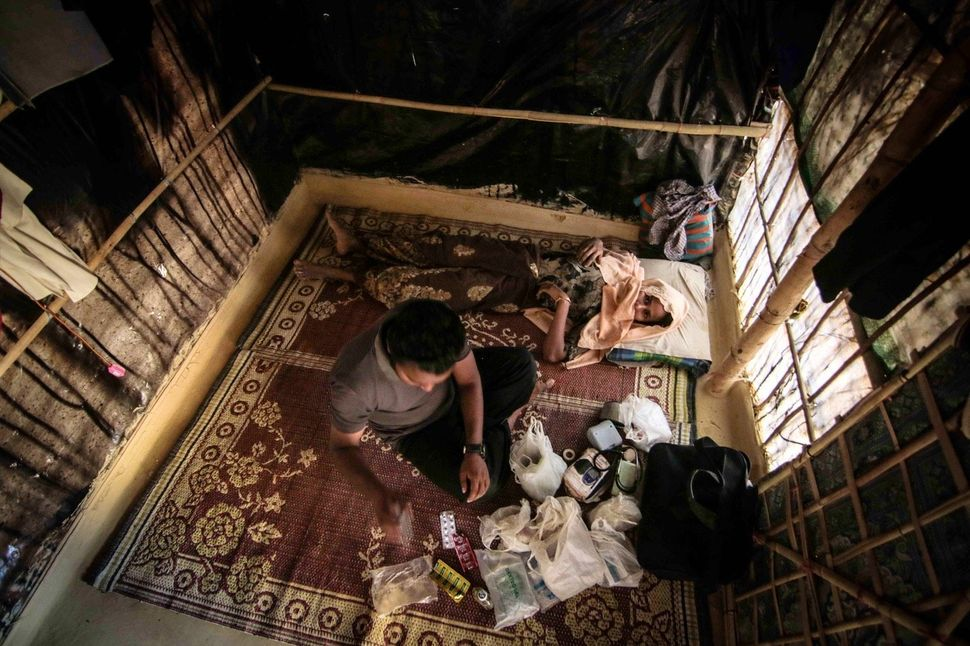 Around 70,000 Rohingya have fled Myanmar since October. Many have built shelters in the ever-expanding Kutupalong camp, and s