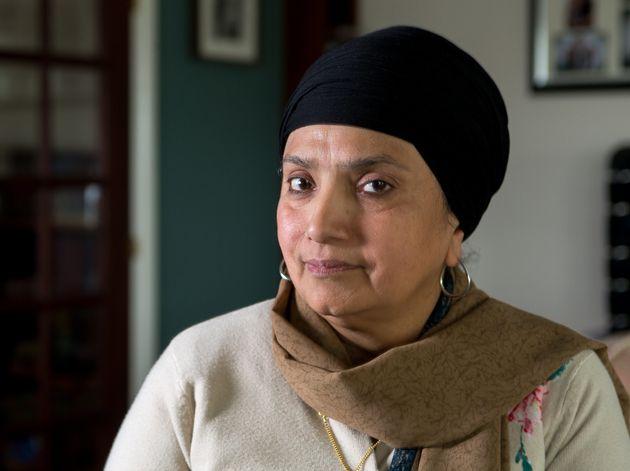 Balbil Kaur spoke of her anger towards Johnson on Wednesday