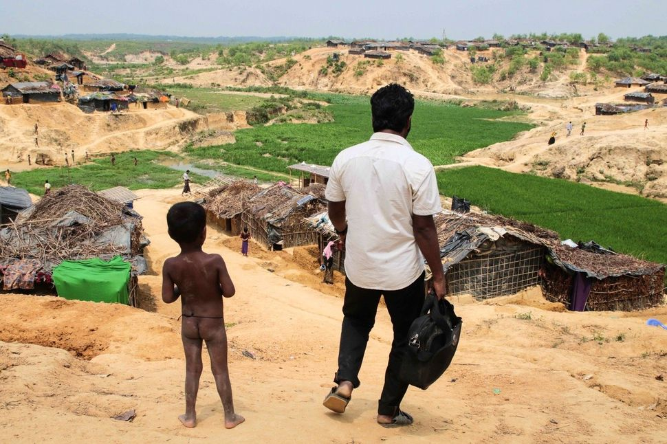 Because of the ongoing persecution that Rohingya face within Myanmar, some have lived in the Bangladeshi camp of Kutupalong f