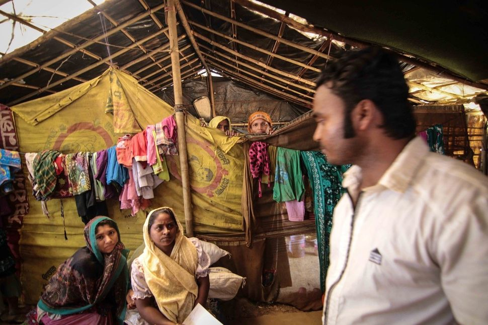 As a Rohingya himself and a practicing doctor back in Myanmar, Nur Kabir is well known among the displaced community. Due to