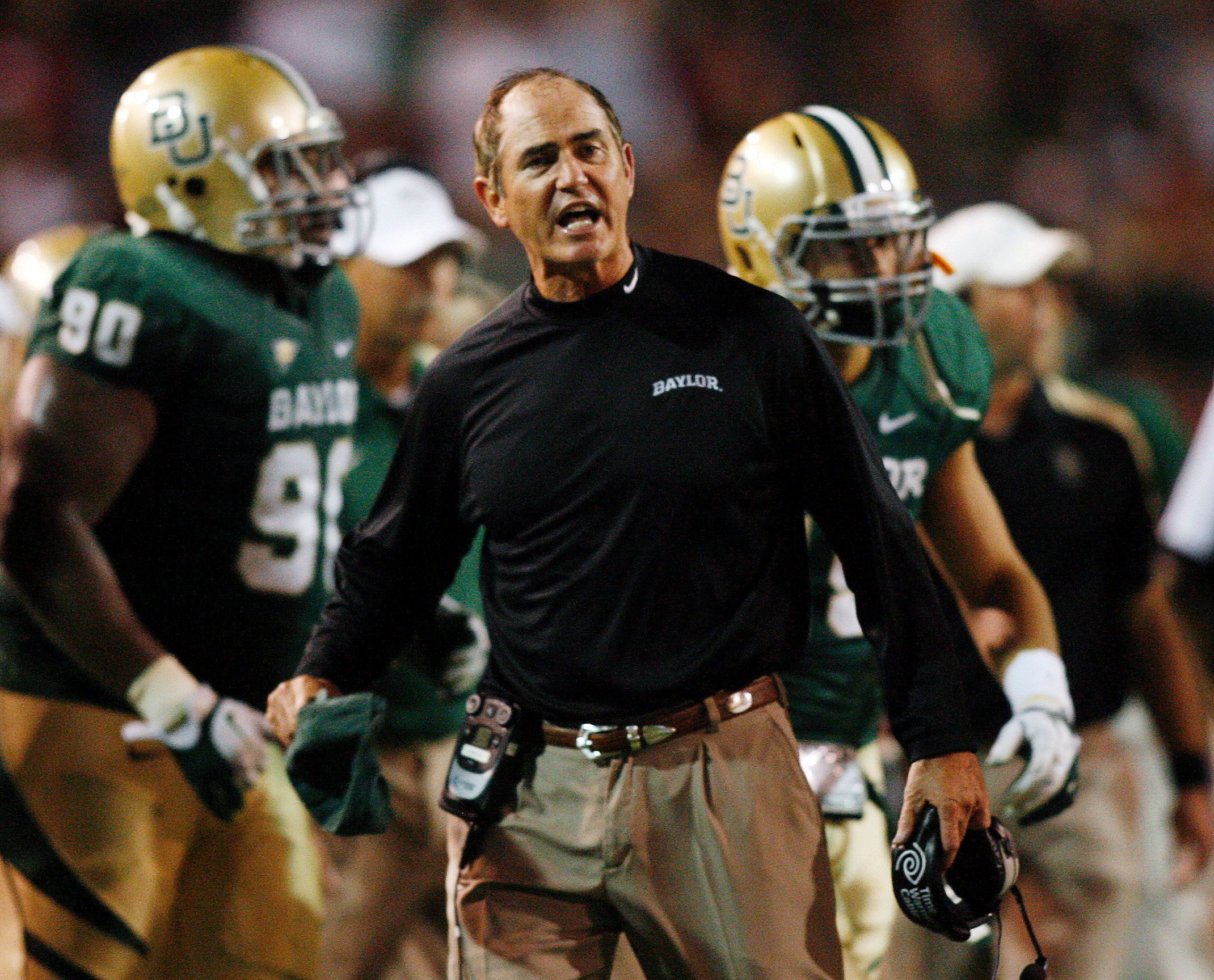 Football coach Art Briles lost hisjob last year amidgrowingaccusations of sexual misconductinvolving&