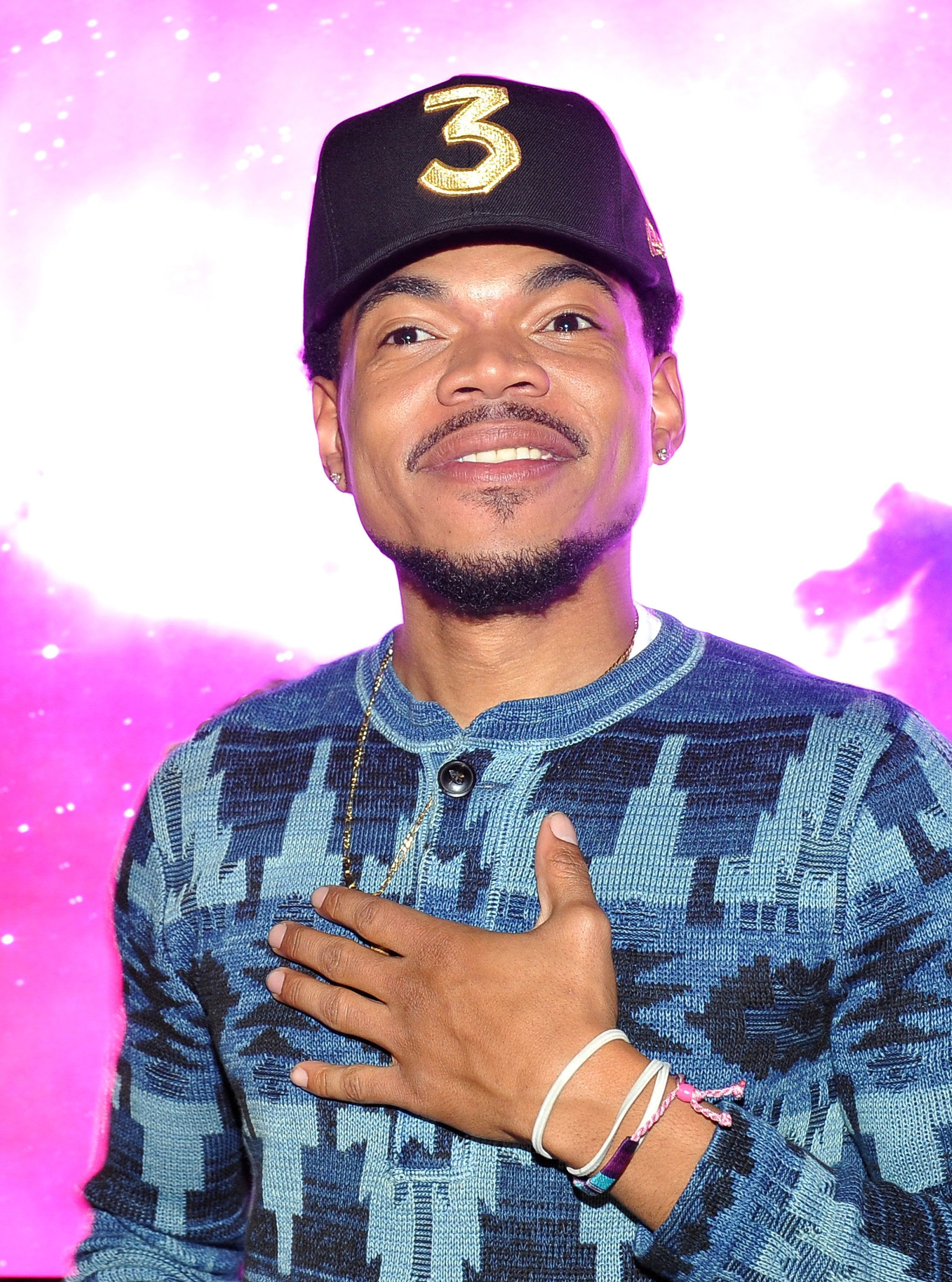 LOS ANGELES, CA - FEBRUARY 12: Chance the Rapper attends GQ and Chance The Rapper Celebrate the Grammys in Partnership with YouTube at Chateau Marmont on February 12, 2017 in Los Angeles, California.  (Photo by Donato Sardella/Getty Images for GQ)