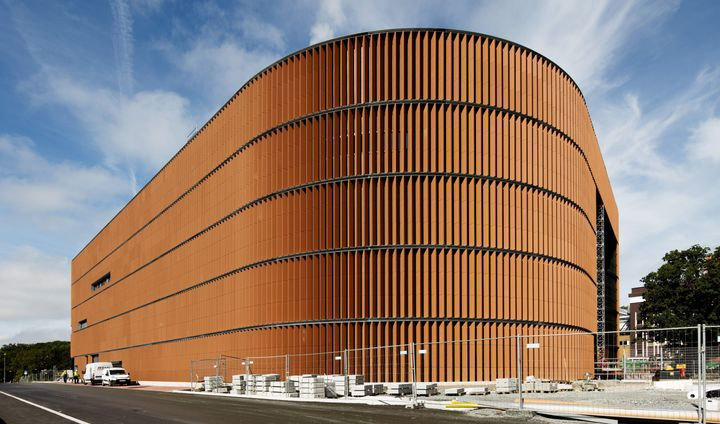 The new Värtaverket combined heat and power district heating plant in Stockholm is among Sweden's largest power plants and is