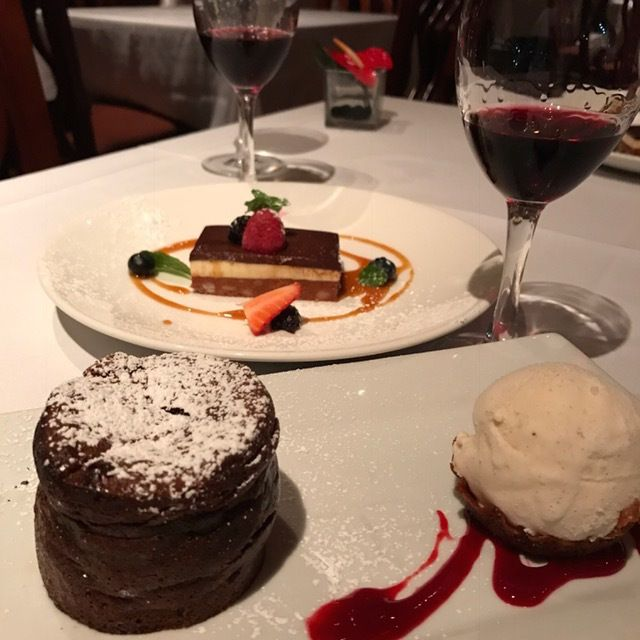 Save room for desert at Roy's Waikiki.