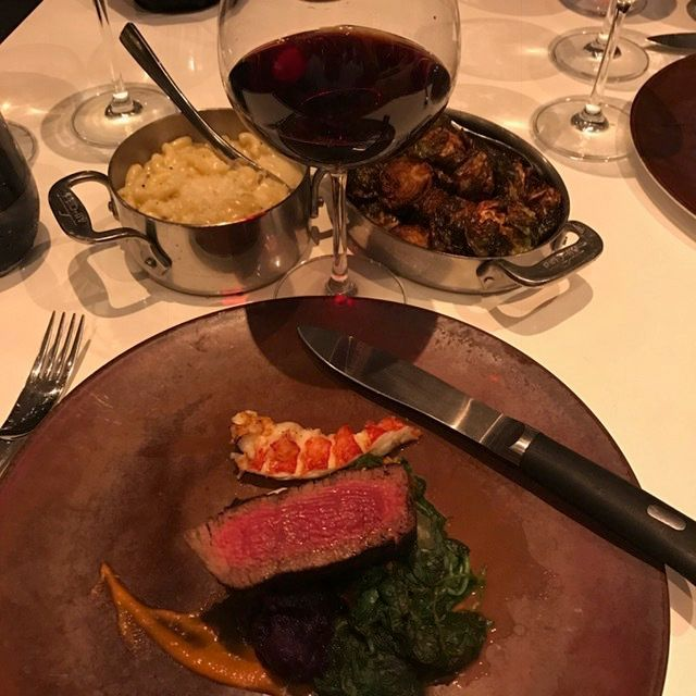 CHef Michael Mina's elegant surf and turf at STRIPSTEAK Waikiki.