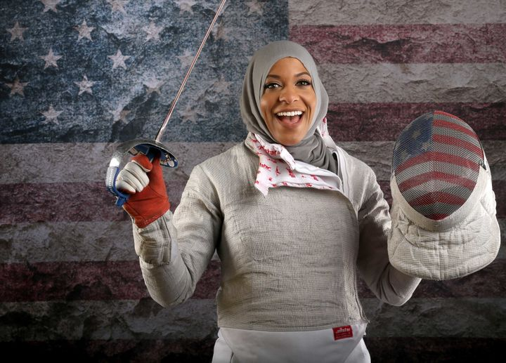 Ibtihaj Muhammad is an African American fencer  and Olympian. She is the first Muslim American woman to compete in the 2016 O
