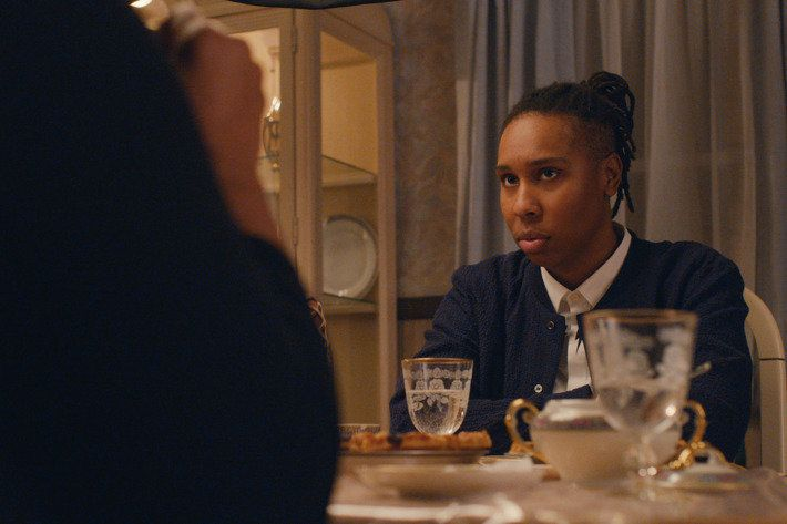 Lena Waithe opens up about her coming out experience in the Netflix series.
