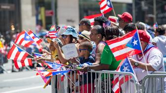 NEW YORK, NY - JUNE 12:  2016 General atmosphere during the Puerto Rican Day Parade on June 12, 2016 in New York City.  (Photo by Roy Rochlin/Getty Images)