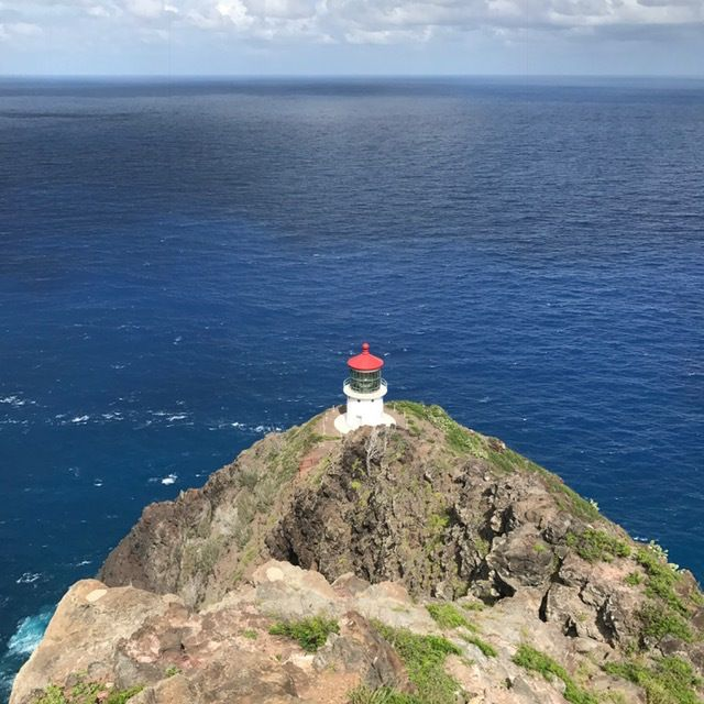 Stunning coastal views from the Makapuu Lighthouse trail.