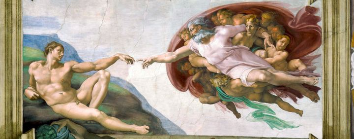 """The Creation of Adam."""