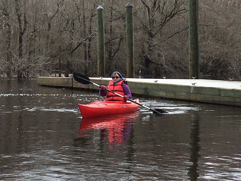 Kayak along the Waccamaw River for an exhilarating excursion through the Spanish moss-draped trees and swamps of South Caroli