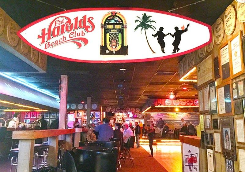 Fat Harold's Beach Club, home of the Shag, has been a North Myrtle Beach hotspot for decades.