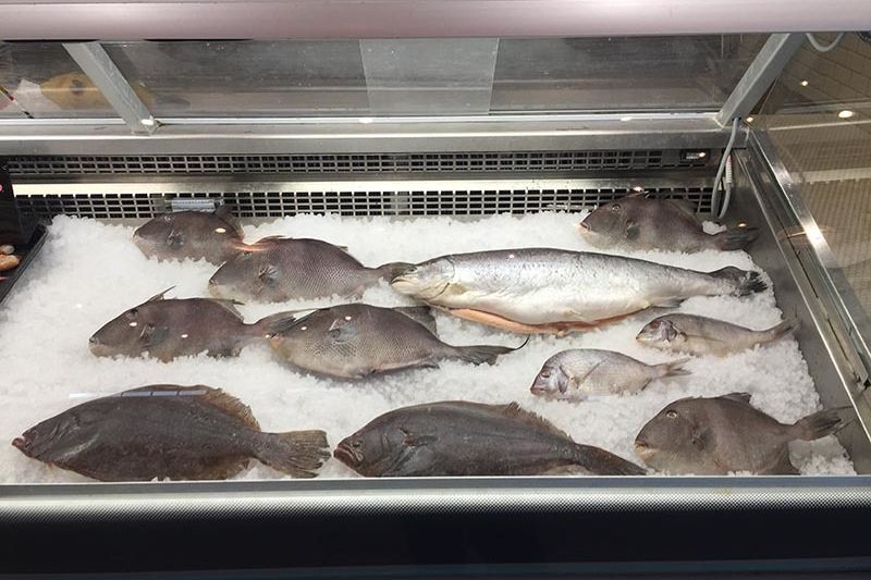 For some of the freshest fish on the coast, try the Flying Fish Public Market and Grill.