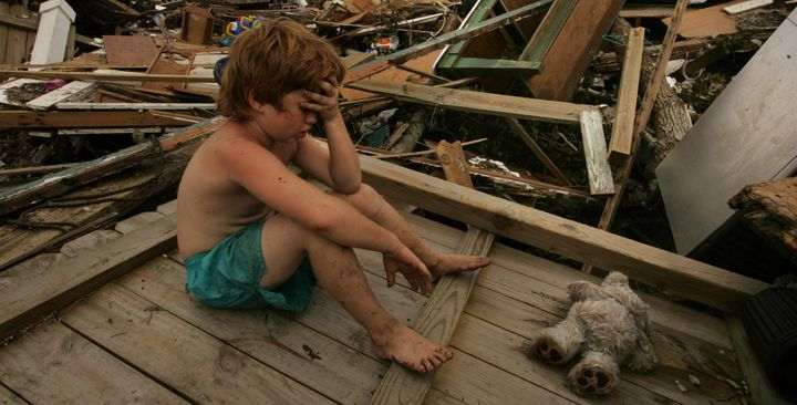 The morning Hurricane Katrina hit New Orleans