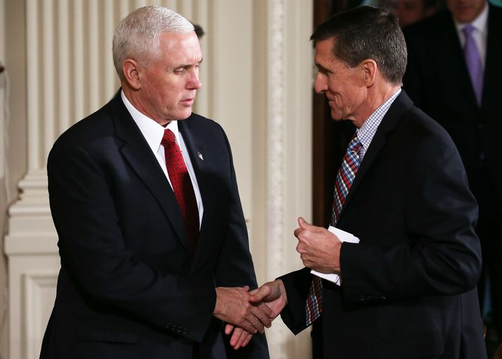 After Vice President Mike Pence and others had denied in January that Trump campaign representatives had any contact with Rus