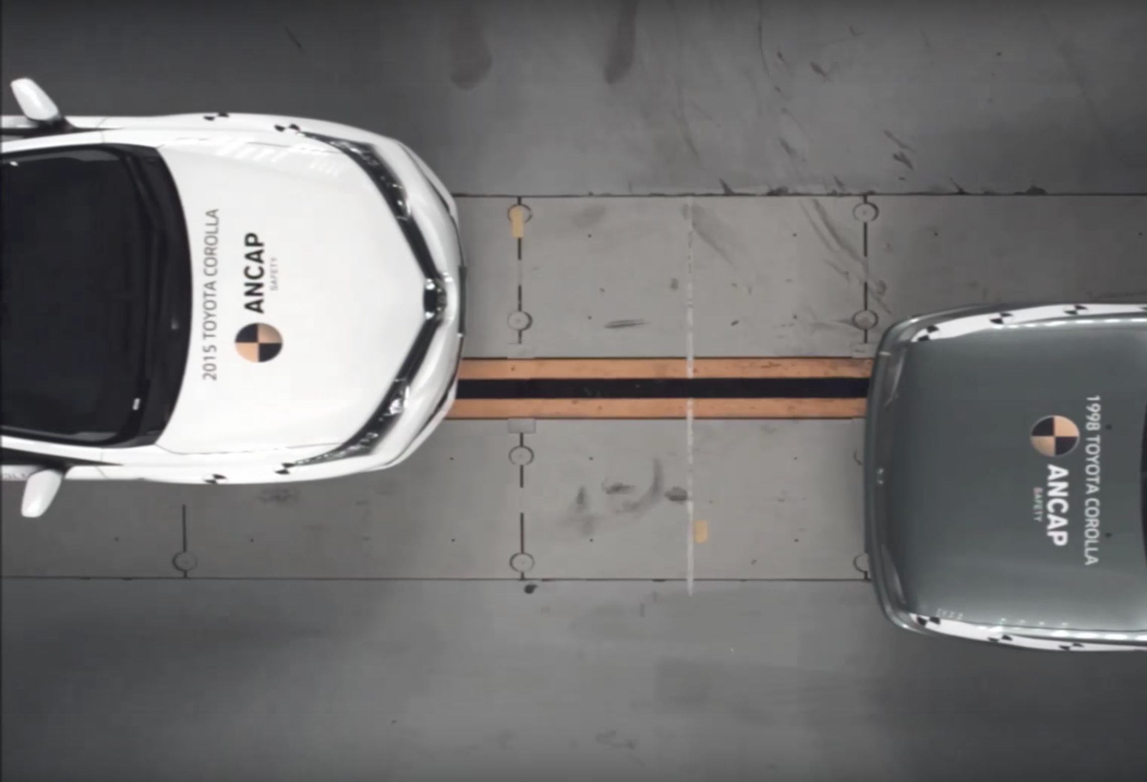 This Shocking Video Reveals What Happens When A 1998 Car Crashes Into A 2015