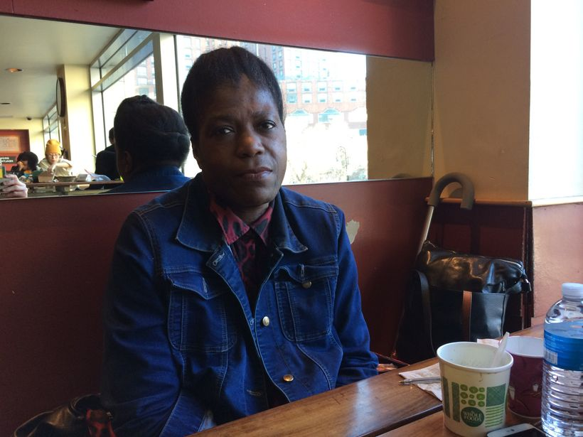 Gayla Francis, who has experienced homelessness since she moved to New York City, searches for affordable housing