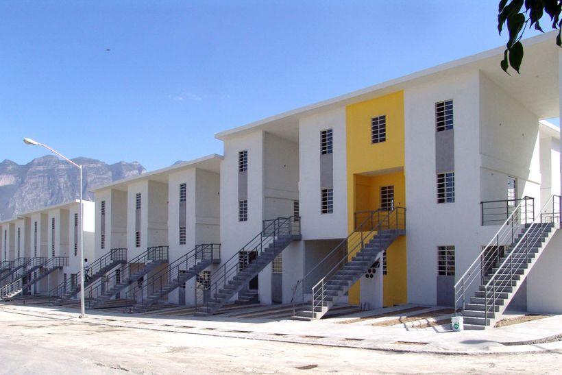 <em>Monterrey Housing, Monterrey, Mexico. By 2016 Pritzker Prize winner,  Alejandro Aravena.</em>